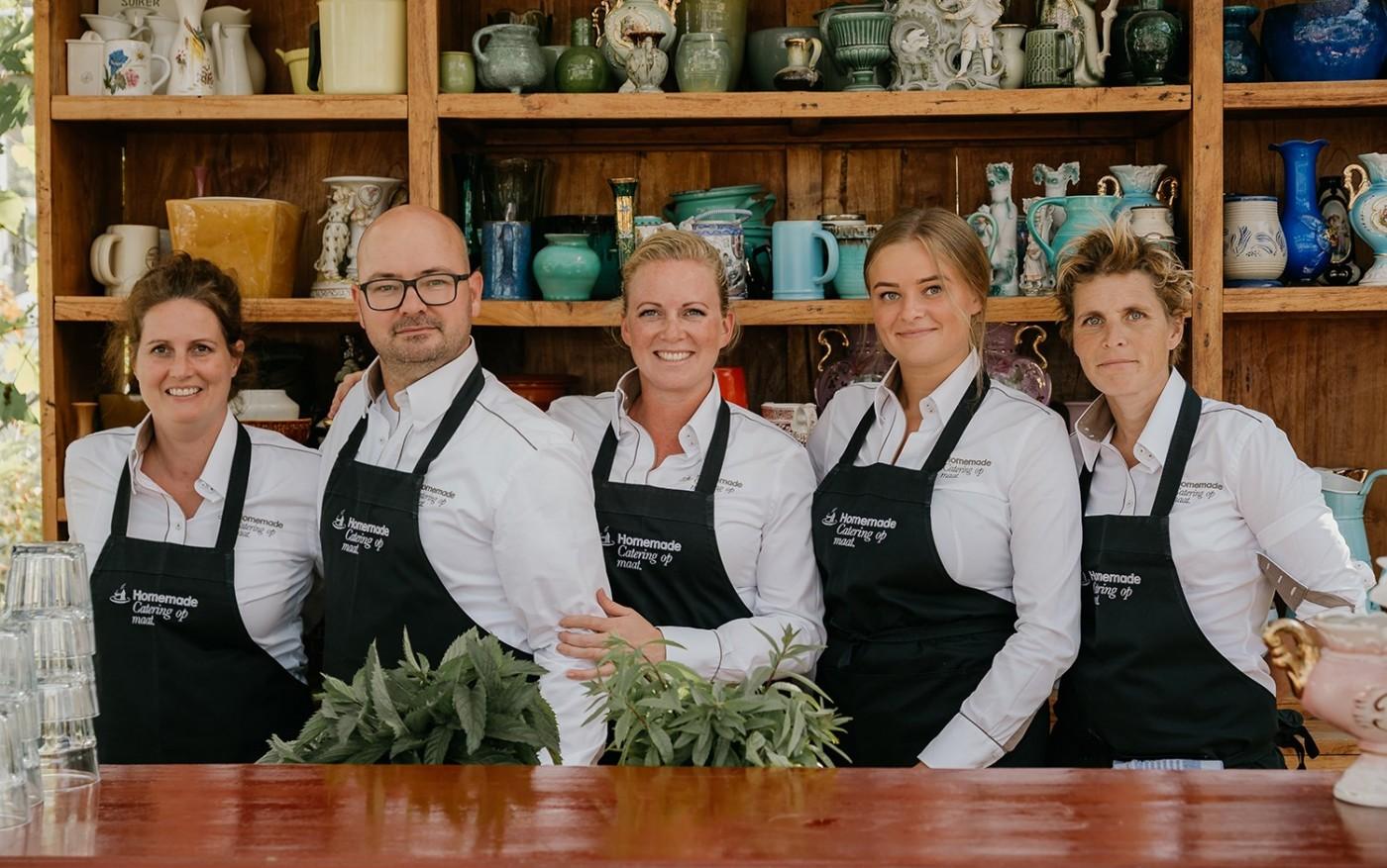 Het team van Homemade
